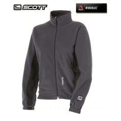 Veste polaire SCOTT POLARTEC Kinetic Gris Femme