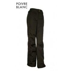 Pantalon de ski POIVRE BLANC Uster Black Femme