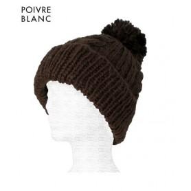 Bonnet de ski POIVRE BLANC Joxi Chocolat Junior
