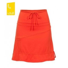 Jupes LOLE Touring Orange Femme