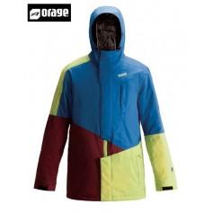 Veste de ski ORAGE Xavier pro shell blue Homme