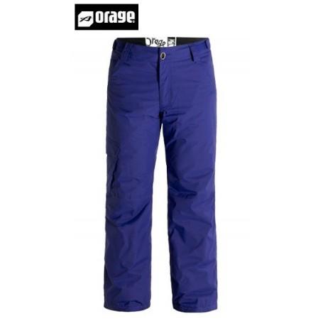 Pantalon de ski ORAGE Edgewood deep indigo Homme