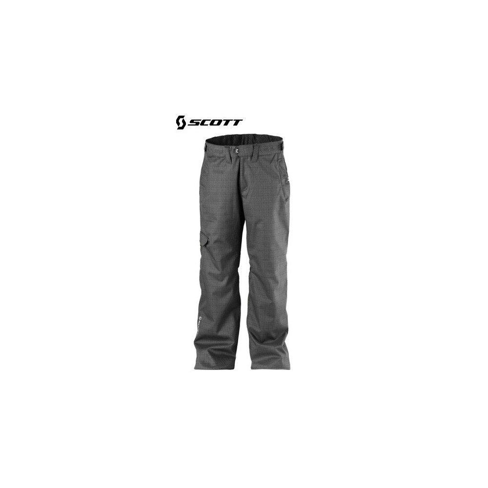 pantalon de ski scott enumclaw noir gris hommes sport a tout prix. Black Bedroom Furniture Sets. Home Design Ideas
