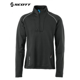 Sweat 1/4 Zip SCOTT Eight8 Noir Hommes