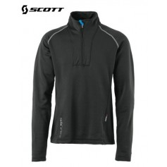 Sweat 1/4 zip Polartec SCOTT Eight8 Noir Hommes