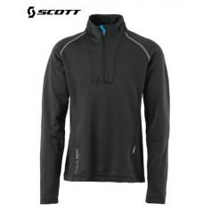 Sweat 1/4 zip Polartec SCOTT Eight8 Noir Hommes