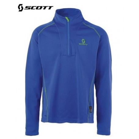 Sweat 1/4 Zip SCOTT Eight8 Bleu Hommes