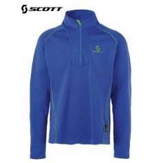 Sweat 1/4 zip Polartec SCOTT Eight8 Bleu Hommes
