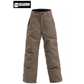 Pantalon de ski ORAGE Junior Tarzo military garçon