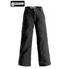 Pantalon de ski ORAGE Junior Tassara black fille