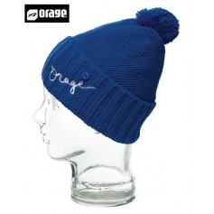 Bonnet à pompon ORAGE Jr Baffin beanie liberty blue