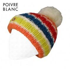 Bonnet POIVRE BLANC Luc Multicouleur Ecru BB Garçon