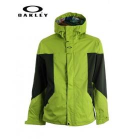 Veste de ski OAKLEY Karn Lite Citron vert Hommes