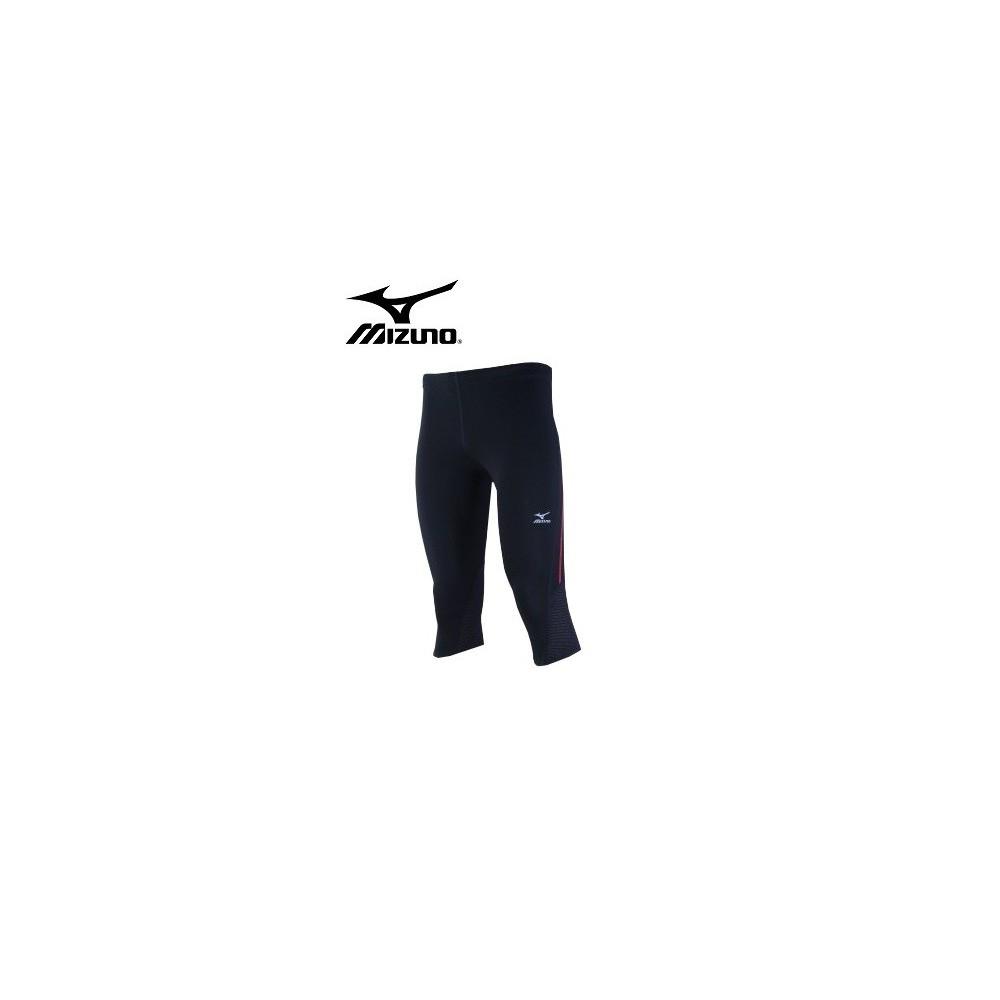 Collant  MIZUNO LT Weight 3/4 Tight  Noir Homme