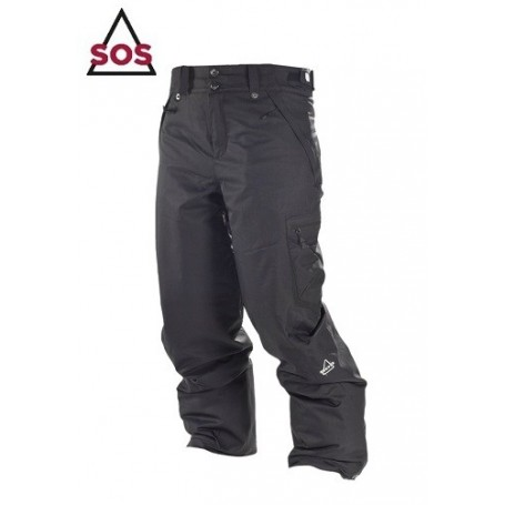 Pantalon de Ski SOS Holly Noir Femmes