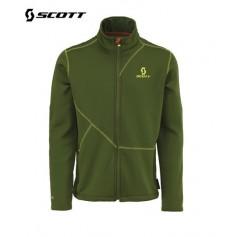 Veste zippée Polartec SCOTT Eight8 Vert cypres Hommes