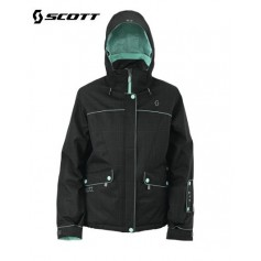 Veste de ski SCOTT Alanis Black plaid femmes