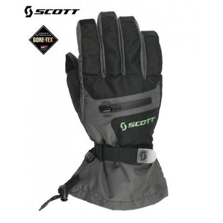 Gants de ski SCOTT Gore-tex Groomer Gris / Noir Hommes