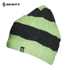 Bonnet de ski SCOTT Wheeler Anthracite / Vert Unisexe