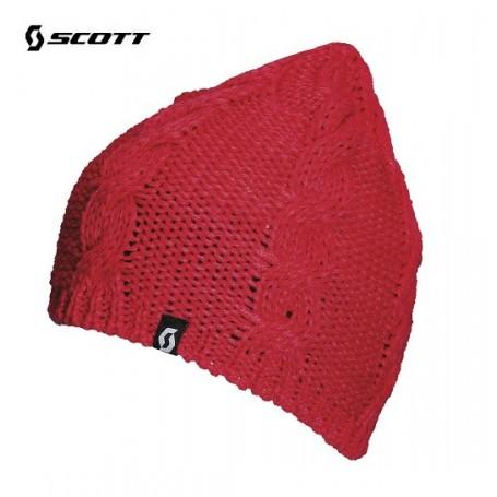 Bonnet de ski SCOTT Cara Geranium Femme