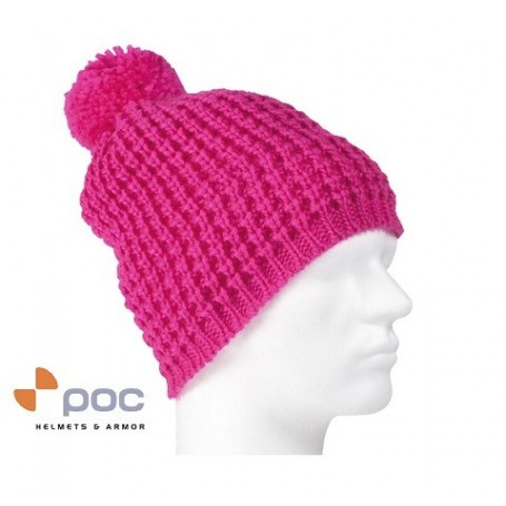 Bonnet de ski POC Bright Color Rose Unisexe