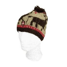 Bonnet de ski en laine Savoie Pompon Rennes
