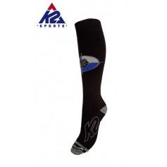 Chaussettes de ski K2 Factory Noir Unisexe