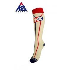 Chaussettes de ski K2 Classic Blanc Unisexe