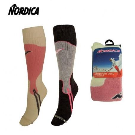 Chaussettes de ski (Pack x2) NORDICA Gran Sport Femme