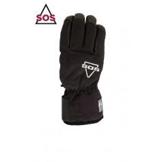 Gants de ski SOS Ski Glove Noir Unisexe