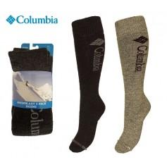 Chaussettes de ski (Pack x2) COLUMBIA Snowblast Anthra/Gris