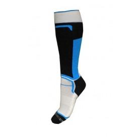Chaussettes de ski SKI SOCKS Noir/bleu Junior