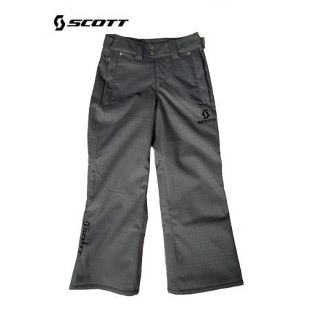 Pantalon de ski SCOTT Slope black slub enfants