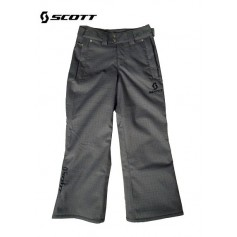 Pantalon de ski SCOTT Slope Black slub Junior