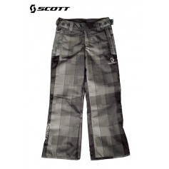 Pantalon de ski SCOTT Slope Blackbloc plaid Junior