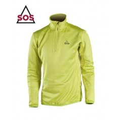 Maillot technique Stretch SOS Axis Vert Anis Hommes
