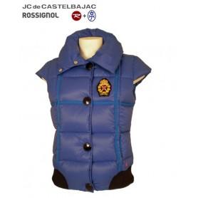 Doudoune duvet JC de CASTELBAJAC Harmony Bleu