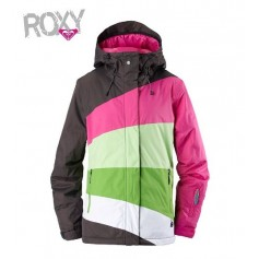 Veste de snowboard ROXY Kayla Gris Femme