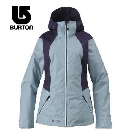 Veste de ski BURTON Theory Bleu Femmes