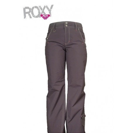 pantalon de ski roxy xrwpx774 gris femmes sport a tout prix. Black Bedroom Furniture Sets. Home Design Ideas