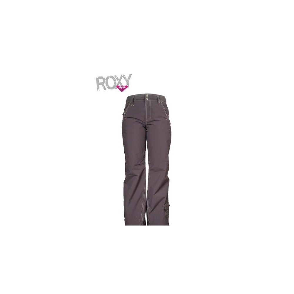pantalon de ski roxy xrwpx774 gris femmes sport a tout prix. Black Bedroom Furniture Sets. Home Design Ideas