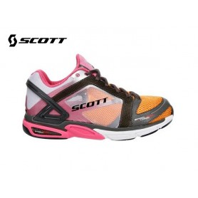 Chaussures SCOTT Eride Support Orange / Rose Femme