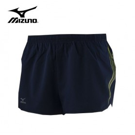 Short de running MIZUNO Performance Split Bleu Homme