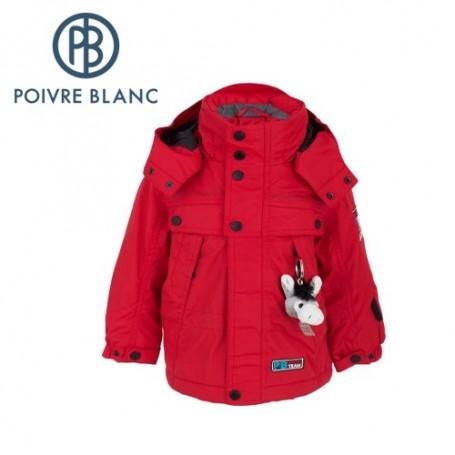 Veste de ski POIVRE BLANC W13-0900 BBBY Rouge BB Garçon