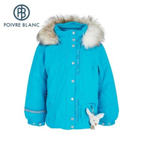 Veste de ski POIVRE BLANC W13-1002 BBGL/A Bleu BB Fille