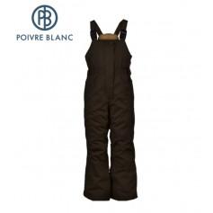 Salopette de ski POIVRE BLANC W13-1024 BBGL Vison BB Fille