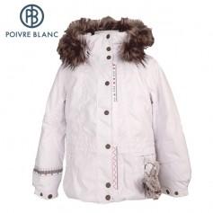 Veste de ski POIVRE BLANC W13-1002 BBGL/A Blanc BB Fille