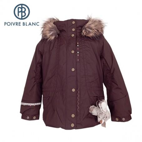 Veste de ski POIVRE BLANC W13-1002 BBGL/A Vison BB Fille