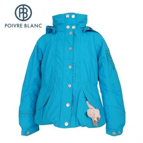 Veste de ski POIVRE BLANC W13-1002 JRGL Bleu Fille