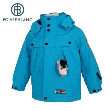 Veste de ski POIVRE BLANC W13-0900 BBBY Bleu BB Garçon